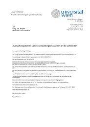 Evaluation APÜ2 WS2010