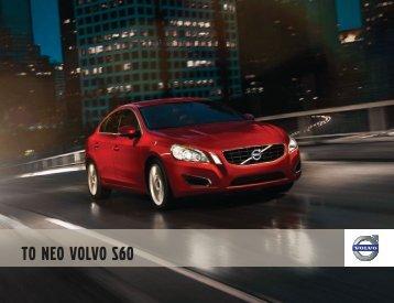 Κατεβάστε το e-brochure του S60 εδώ. - Volvo
