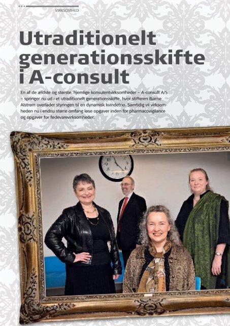 Utraditionelt generationsskifte i A-consult - Pharmadanmark