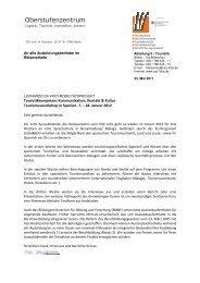 Info an Betriebe2012 - OSZ Lotis Berlin