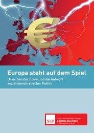 Europa steht auf dem Spiel, November 2011 - Bernd Lange