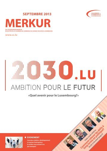 30 free magazines from cc lu for Chambre de commerce luxembourg formation