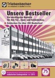 Unsere Bestseller - Triebenbacher.de