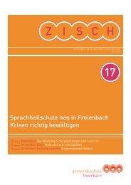 Ausgabe 17 2013 [PDF, 2.00 MB] - Gemeinde Freienbach