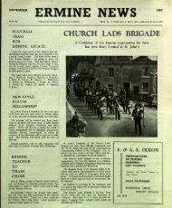 November - St. John the Baptist Parish Church. Ermine. Lincoln.