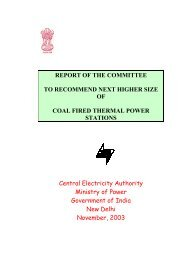 committee to recommend next higher size of coal fired units - Central ...