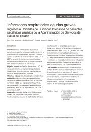 Infecciones respiratorias agudas graves - SciELO
