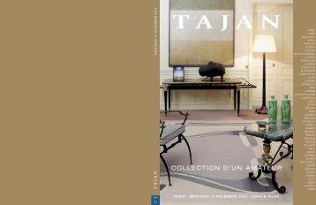 """arts decoratifs du 20e siecle """"collection d'un amateur"""" - Tajan"""