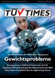 kundenzeitschrift der tüv austria gruppe ausgabe 03 / september 2008