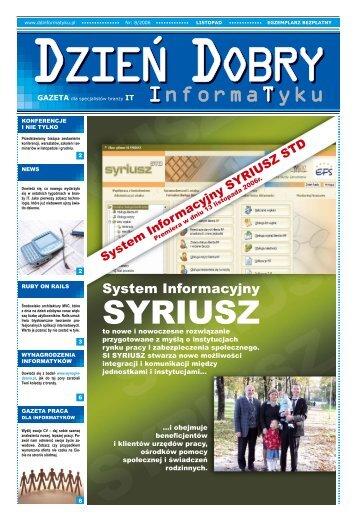 System Informacyjny - Dzień Dobry Informatyku