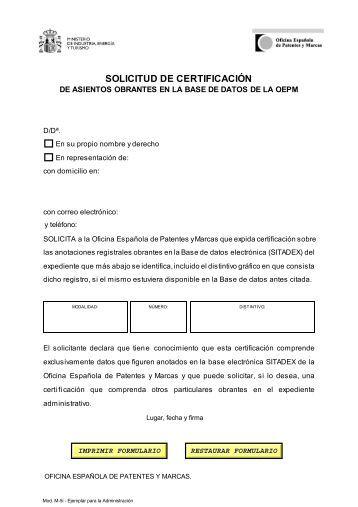 Traducci n de reivindicaciones de una solicitud de patente europea - Oficina patentes y marcas ...