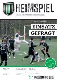 EinSATz GEfrAGT - SG Eintracht Mendig/Bell