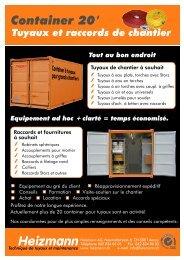 Container 20' - Heizmann AG