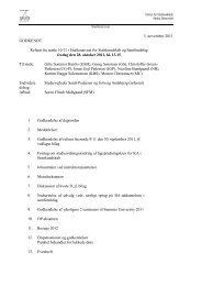 3. november 2011 GODKENDT Referat fra møde 10/11 i ...