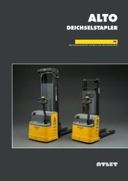 alto deichselstapler - BUW Stapler