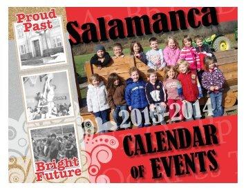 13-14 Calendar - Salamanca City School