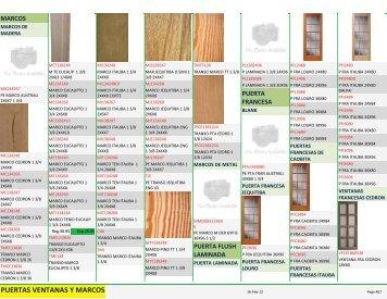 puertas ventanas y marcos - Tesoro en Maderas
