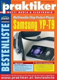 Samsung YP-T9: Multimedia-Chip-Pocket-Player - ITM ... - Praktiker.at