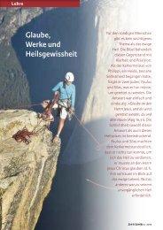 Glaube, Werke und Heilsgewissheit - Michael Schneider