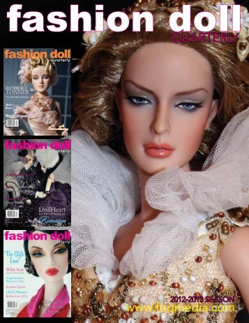 Advertise in FDQ - Fashion Doll Quarterly!