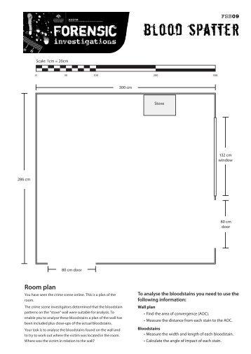 Blood spatter worksheet pdf