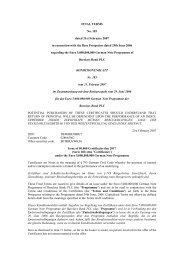 Barclays, 183, CC Athena OS Index Certificates ... - Hedgeconcept.de