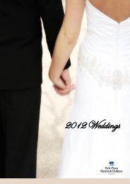 Download our Wedding Brochure - Sherlock Holmes Hotel