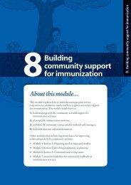 Building Community Support for Immunization - RHO