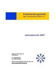 Krebsberatungsstelle des TZB - Tumorzentrum Bonn eV