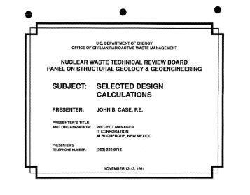 An analysis of the radioactive wastes