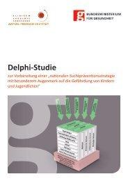 Delphie-Studie zur Vorbereitung einer - Bundesministerium für ...