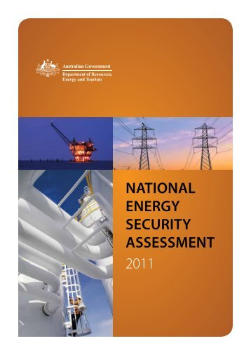 National Energy Security Assessment 2011 - Australian Institute of ...