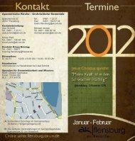 Januar - Februar - Urchristliche Gemeinde Flensburg