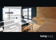 Imagebroschüre - Küng AG Saunabau