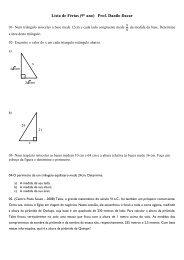 matemática - Colégio Guilherme de Almeida