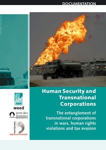 Human Security and Transnational Corporations - Weed