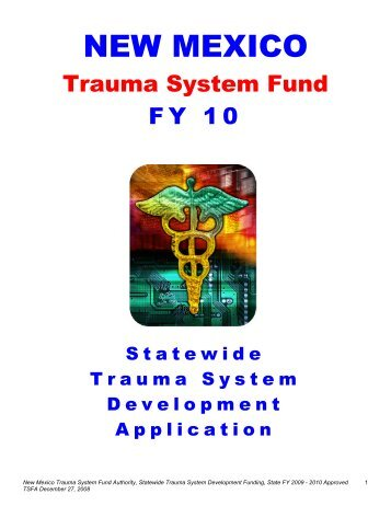 NEW MEXICO - NM Region 1 EMS & Trauma Foundation