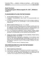 Stadt Viernheim Vorhabenbezogener Bebauungsplan Nr. 254-1 ...