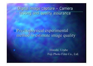 Psychophysical experimental method to estimate ... - Uschold.com