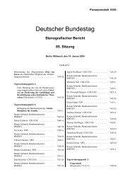 85. Sitzung - CDU Ortsverband Grafschaft