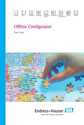 Offline Configurator User Guide - Endress+Hauser