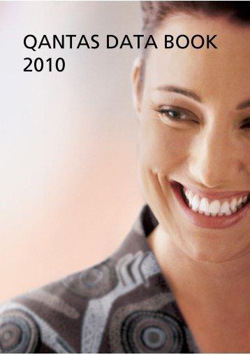 Qantas data book 2010