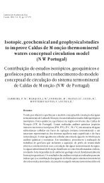 Isotopic, geochemical and geophysical studies to improve Caldas ...