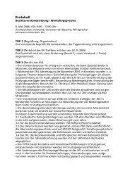 Protokoll - LAG Medien eV