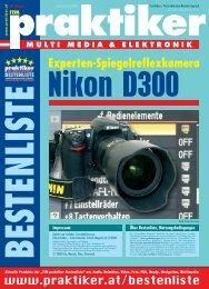 Nikon D300: Experten-Spiegelreflexkamera - ITM ... - Praktiker.at