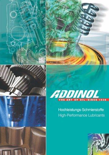Hochleistungs-Schmierstoffe High-Performance ... - Lube Control