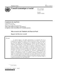 Conseil économique et social - United Nations Office on Drugs and ...