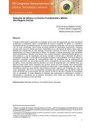 Relações de Gênero no Ensino Fundamental e Médio ... - UTFPR