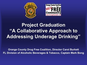"""Project Graduation """"A Collaborative Approach to Addressing ..."""