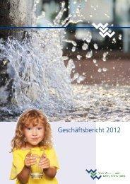 Geschäftsbericht 2012 - WVW Wasser